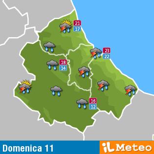 Previsioni meteo Abruzzo 11 settembre