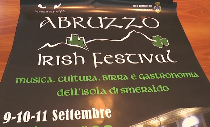Notaresco, dall'9 all'11 settembre torna l'Abruzzo Irish Festival