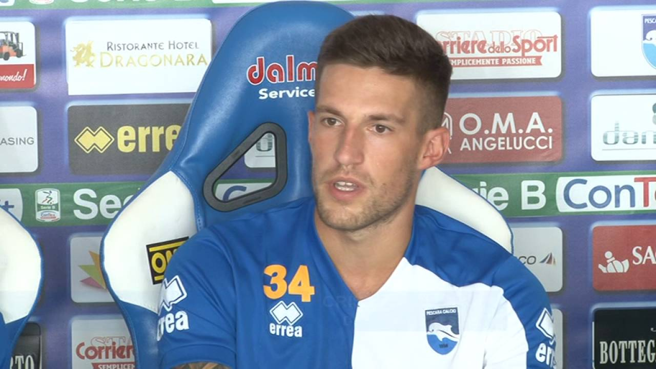 """Pescara calcio. Biraghi """"All'Inter devo tanto"""""""