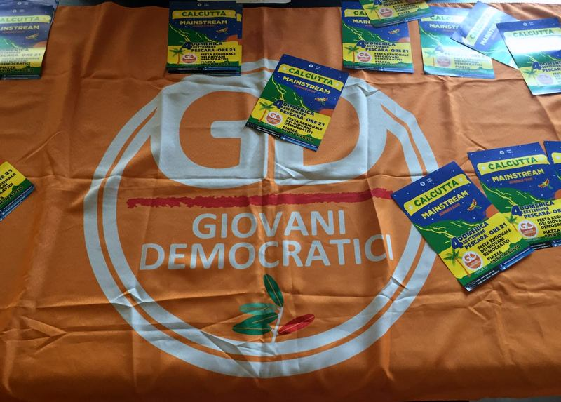 La Festa dell'Unità dei Giovani democratici abruzzesi