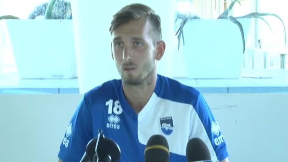 Pescara calcio, le condizioni di Gyomber