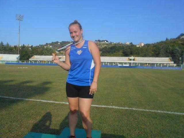 Atletica Leggera – Giavellotto, record regionale juniores