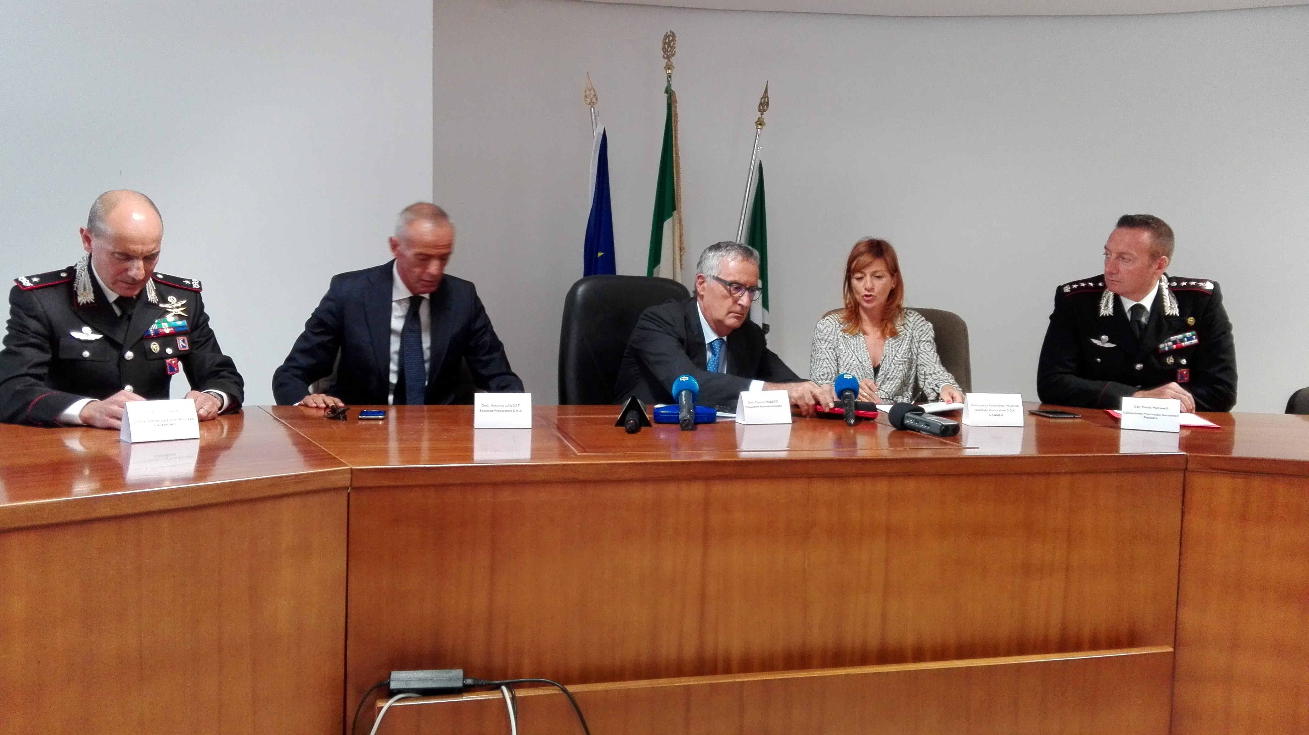 'Ndrangheta in Abruzzo, clan Ferrazzo 25 arresti e 150 indagati