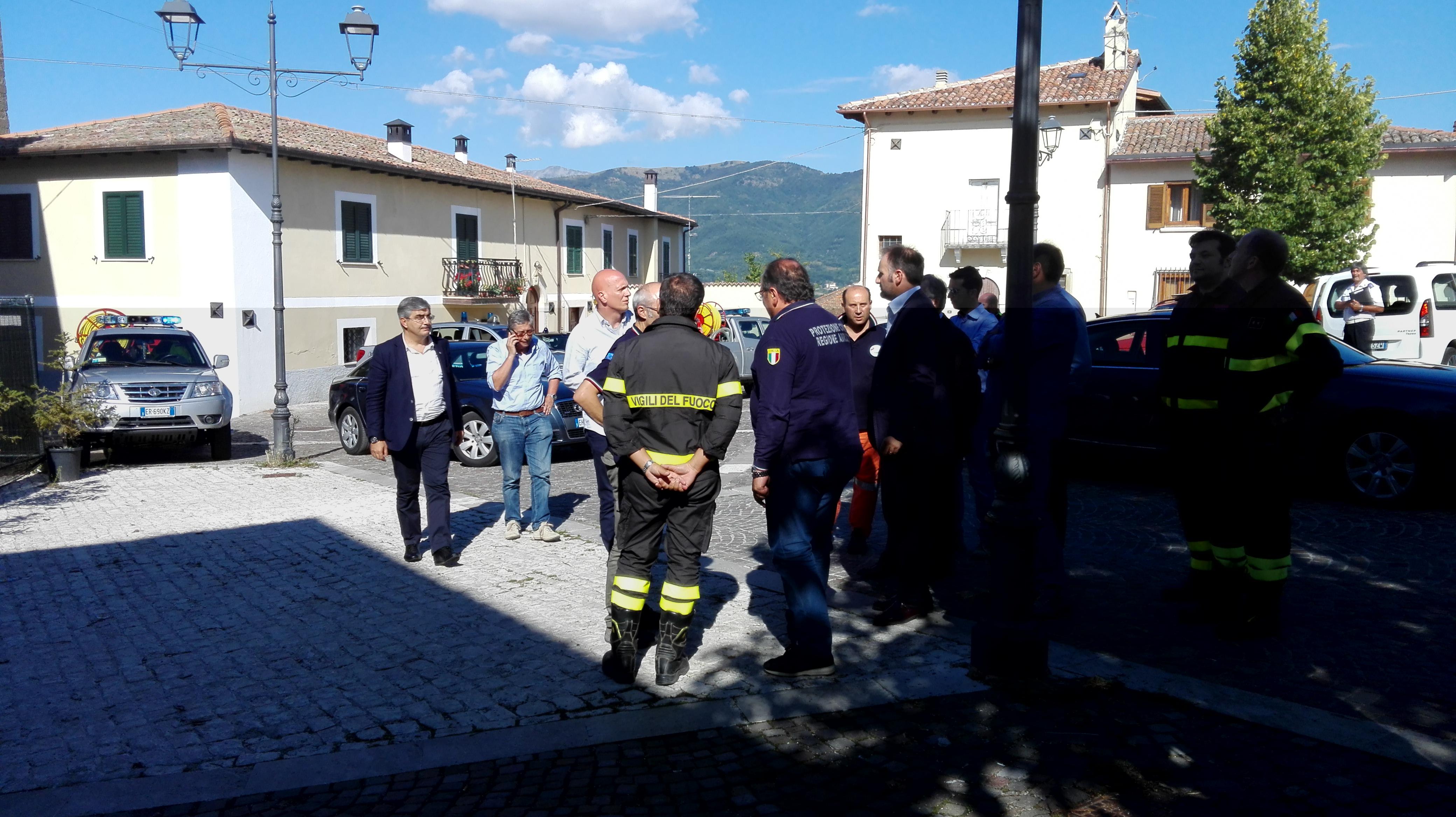 Sisma 24 agosto: Errani e Curcio tornano in Abruzzo