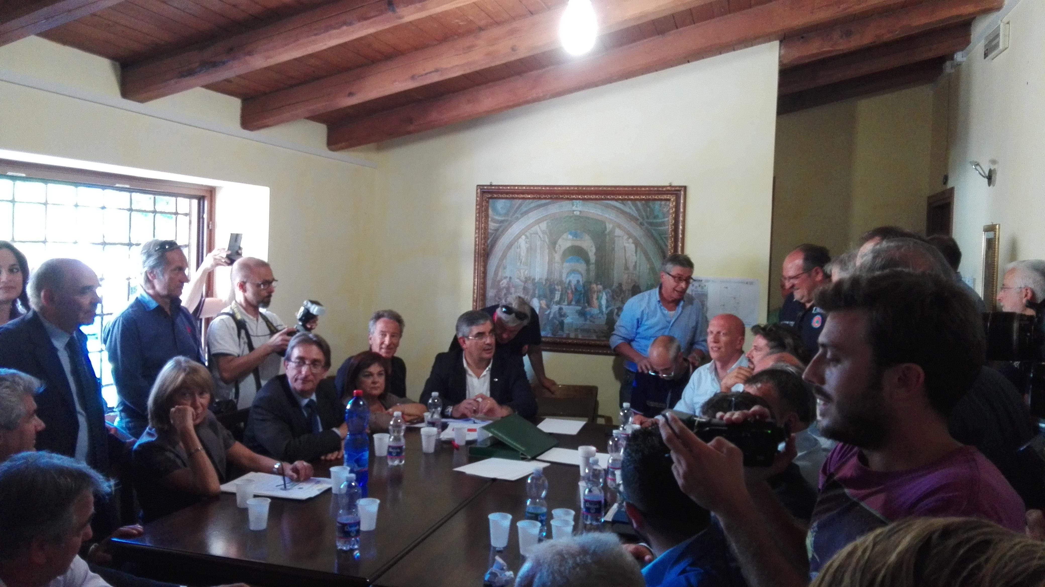 Terremoto: Errani incontra presidenti di tre Regioni