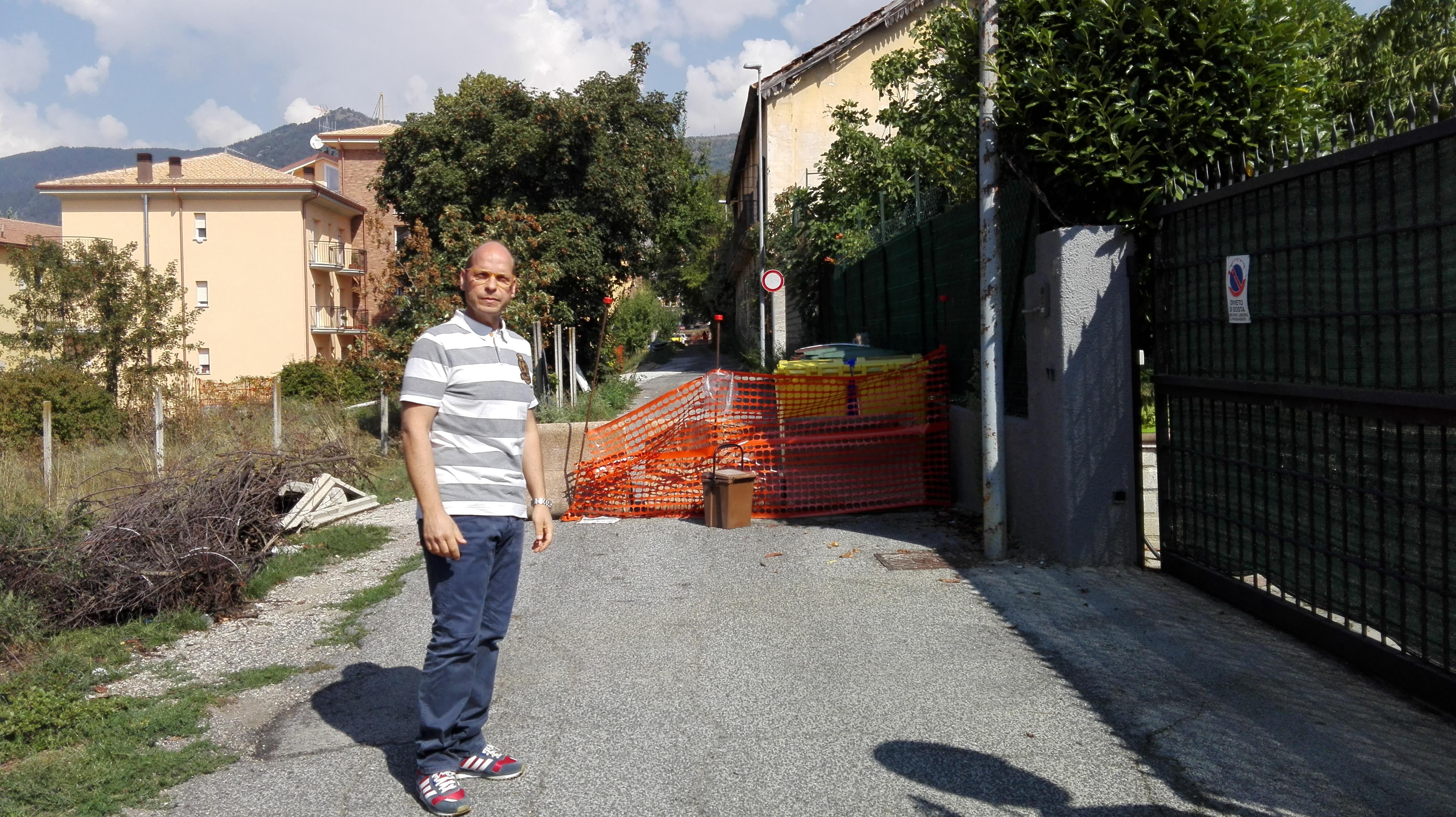 L'Aquila, strade chiuse in piena città: la rabbia dei cittadini