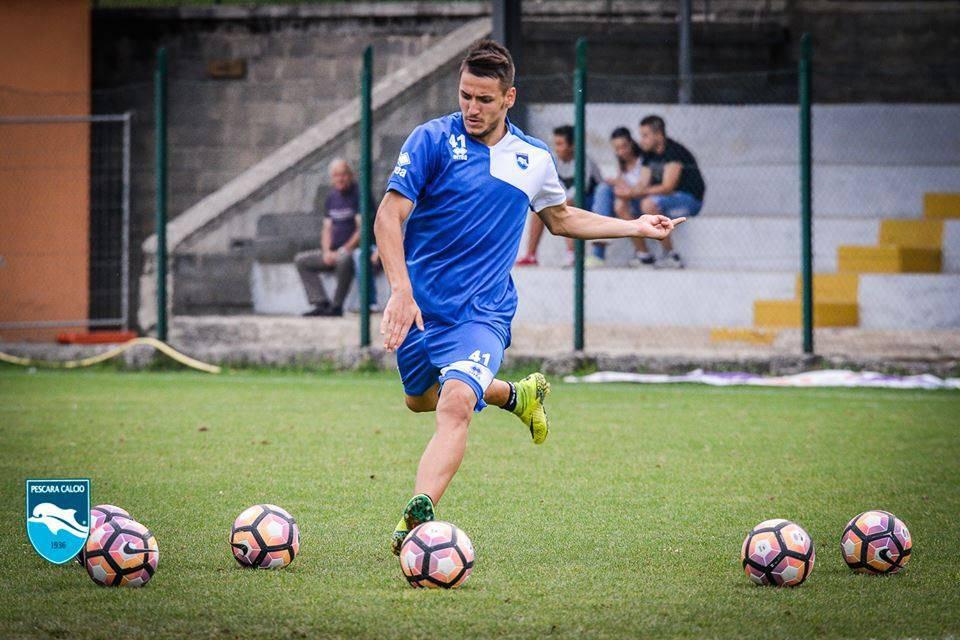 Pescara calcio Manaj, rientra l'allarme