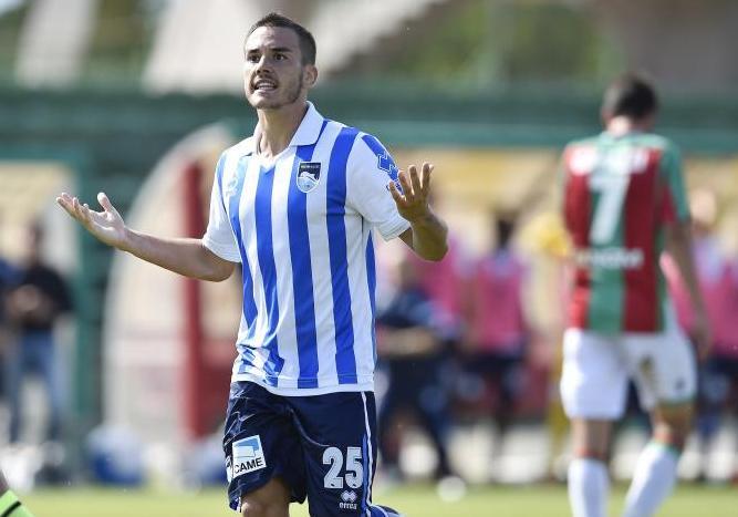 """Pasquato """"Avrei voluto giocare in A col Pescara"""""""