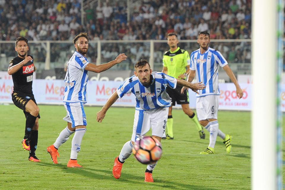 Pescara calcio, vigilia di grande attesa