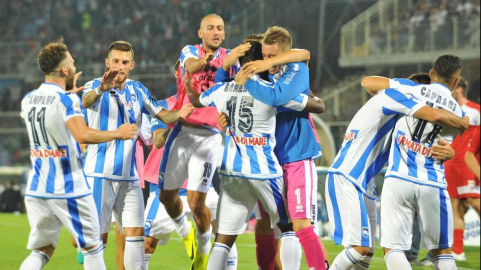 Pareggio per il Pescara a casa del Genoa, finisce 1 a 1