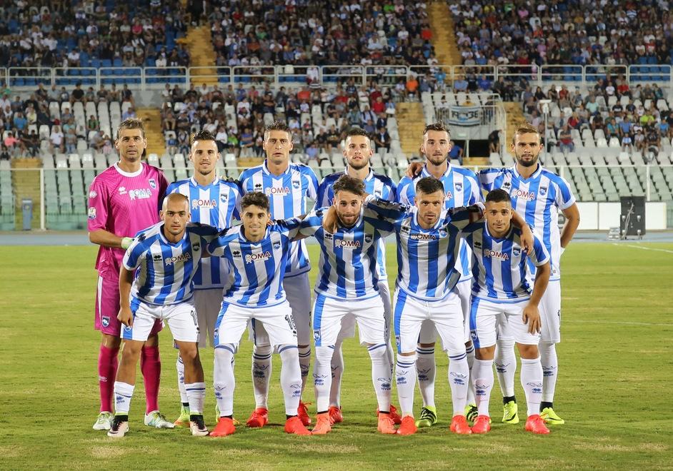 Pescara calcio, sgambatura e riapertura store