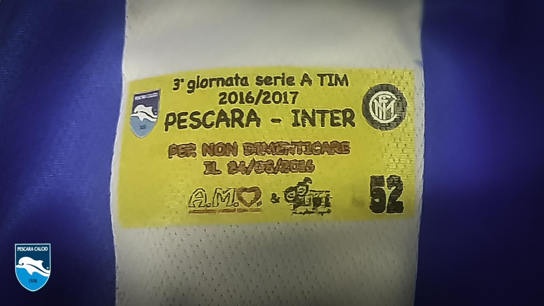 Pescara Inter insieme pro terremotati