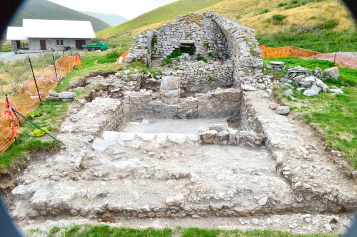 Ritrovamenti archeologici a Campo Imperatore