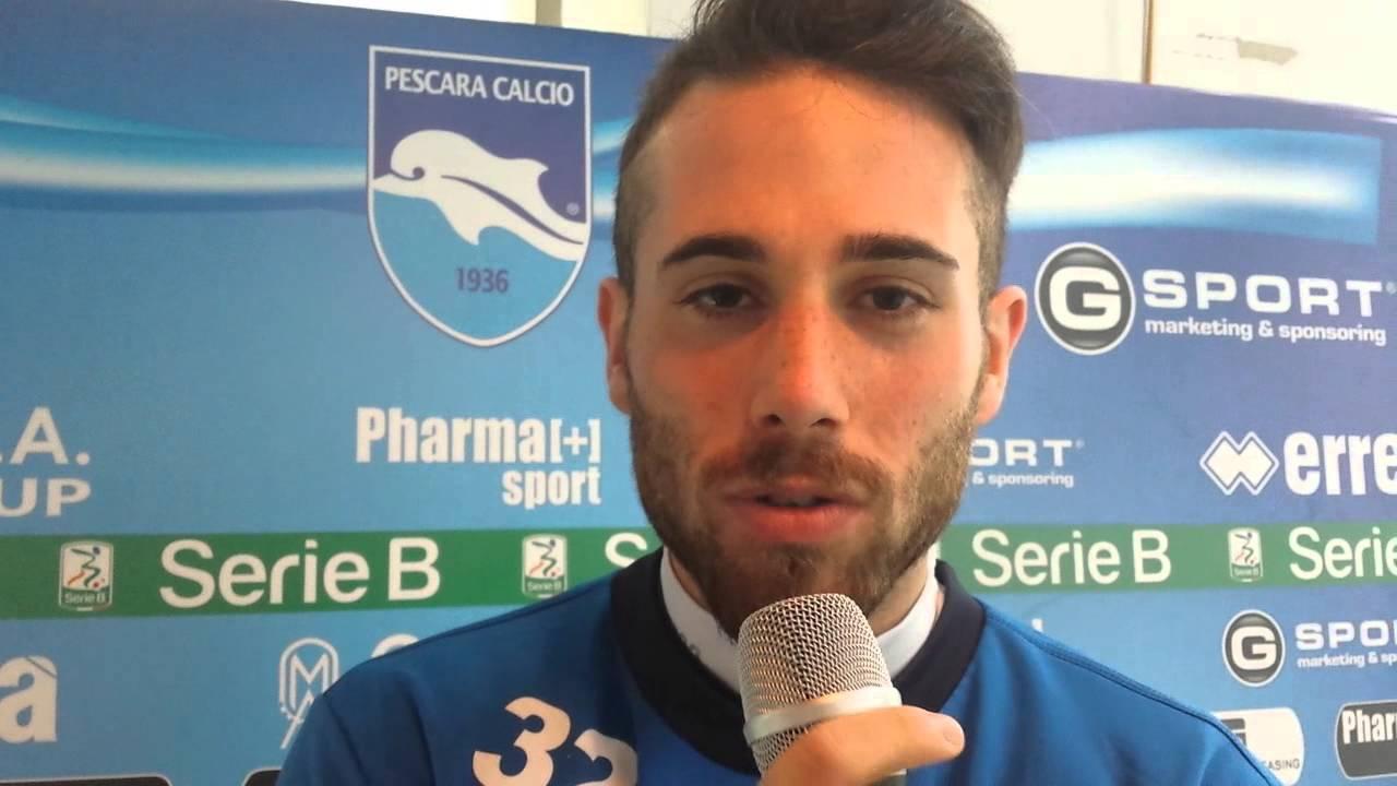 Pescara calcio. Prova tv: due turni a Zampano