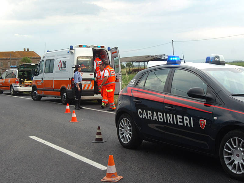 Incidente stradale, madre e due figli feriti a Oricola