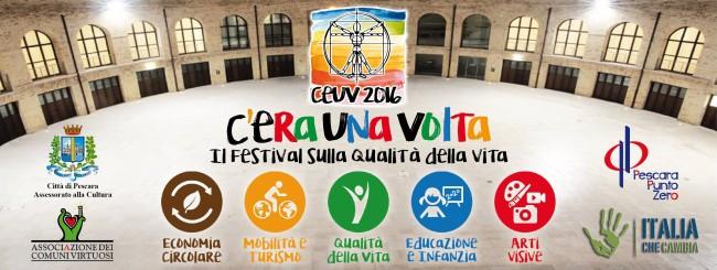 Pescara: torna il festival sulla qualità della vita