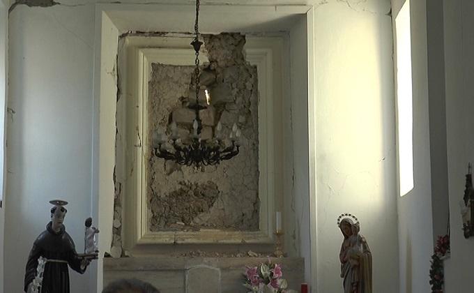 Teramo, sono circa 80 le chiese danneggiate