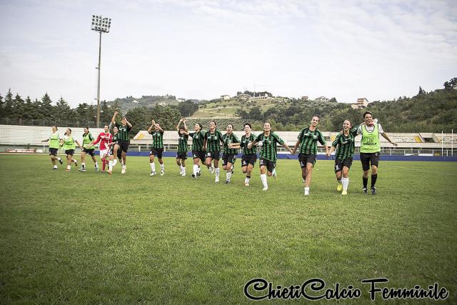 Calcio Femminile – Chieti, le emozioni dell'esordio in A