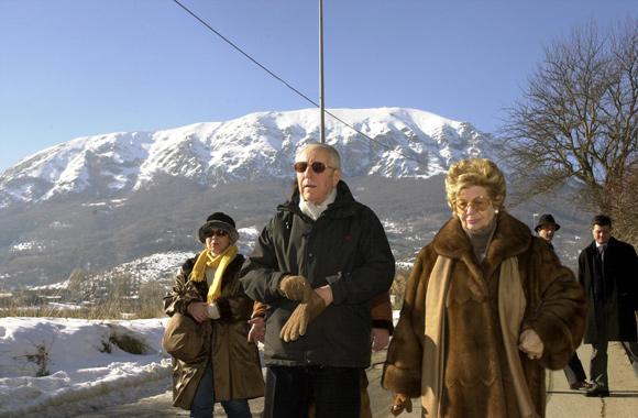 """Ciampi, il sindaco di Rocca di Mezzo: """"Era uno di noi"""""""