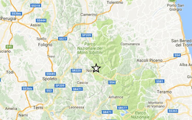 Terremoto, notte di scosse e paura a Perugia
