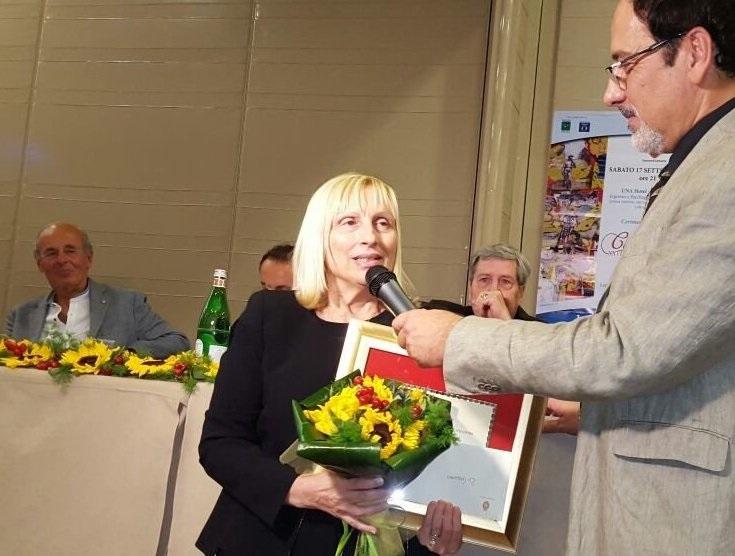 Premio Camaiore, menzione speciale alla poetessa Di Gregorio