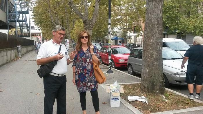 Pescara: volantini su alberi, multe salate
