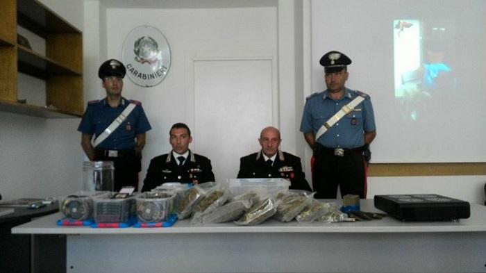 Pescara: droga, serra in casa, arrestato 30 enne