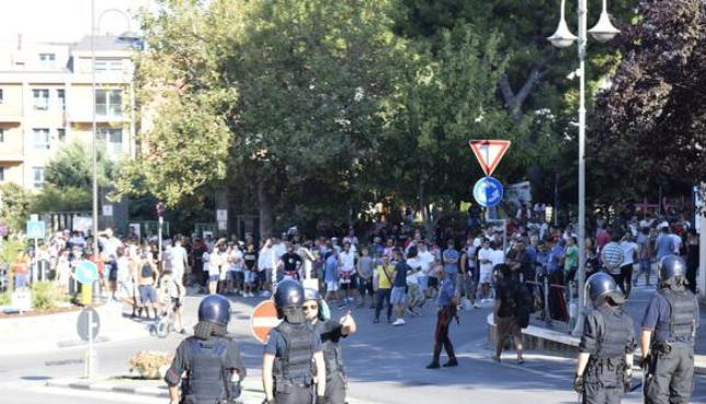 Vastese Chieti: dopo gli scontri 4 Daspo