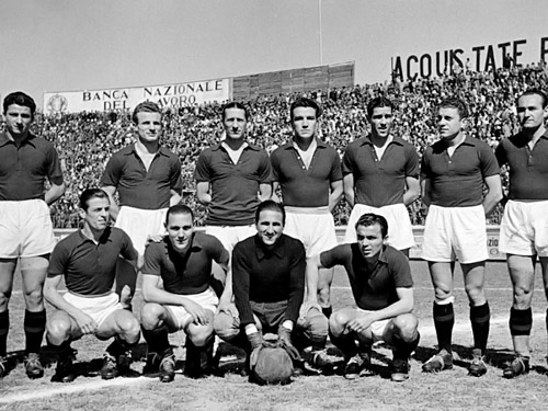 Calcio – L'Aquila ricorda la tragedia ferroviaria di Contigliano.