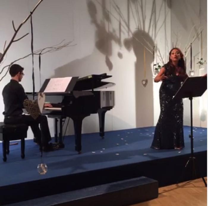 Soprano Lazic canta Respighi per i terremotati