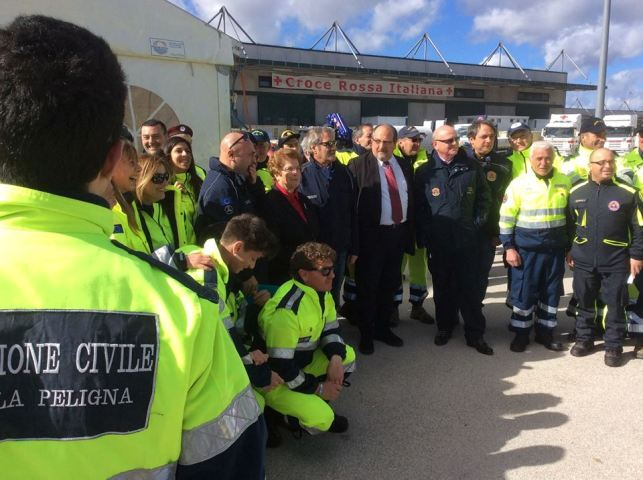 Protezione Civile Abruzzo, fondi per piccoli Comuni uniti
