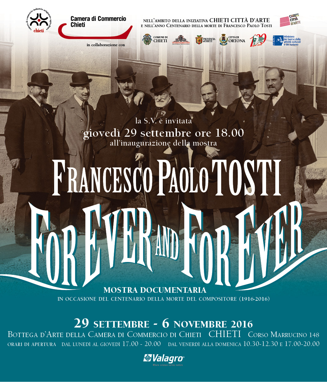 "A Chieti la mostra "" for ever and for ever"""
