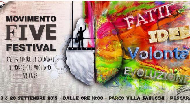 Movimento Five Festival: Di Maio domani a Pescara