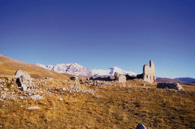 Campo Imperatore: Ritrovati resti di una chiesa tra il XII ed il XVII secolo