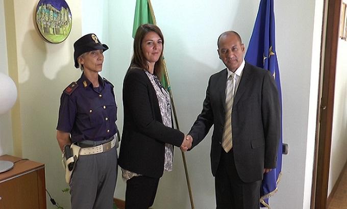 In questura a Teramo arriva Roberta Cicchetti