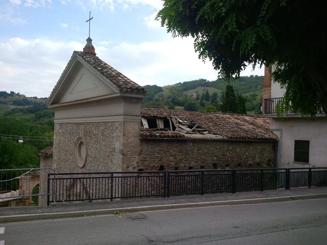 La chiesa di San Giuseppe a Teramo rischia il crollo