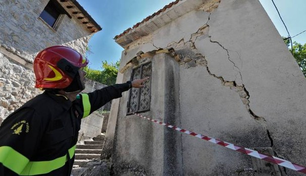 Terremoto, a Teramo 7 ordinanze di sgombero
