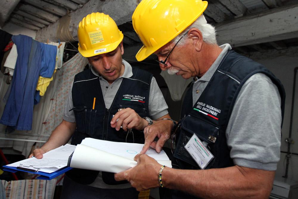 Sisma L'Aquila, le procedure per messa in sicurezza edifici