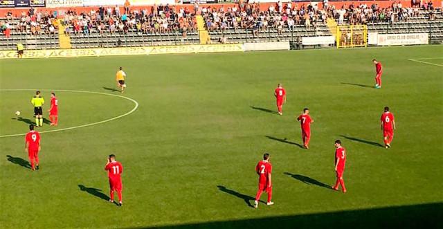 Lega Pro – Santarcangelo Teramo, botta e risposta nel finale