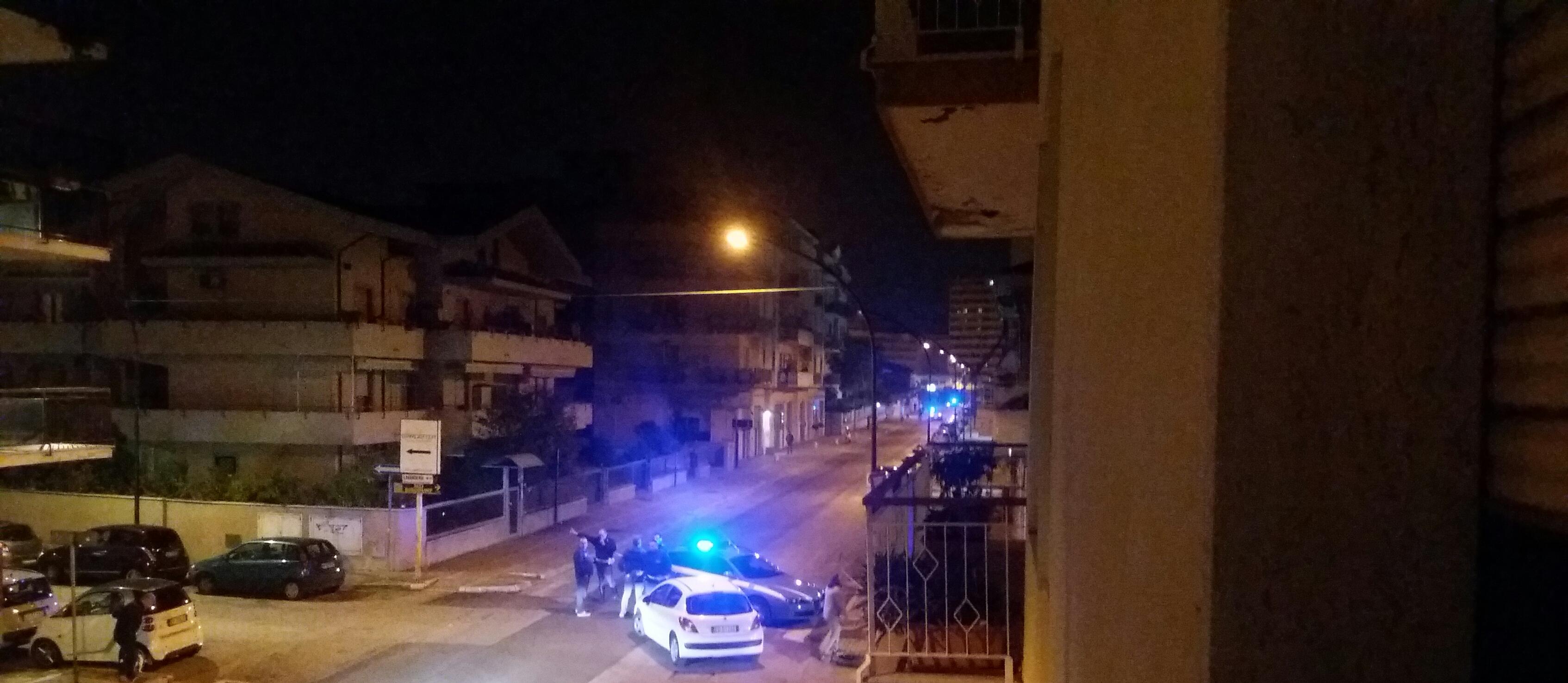 Falso ordigno in Via Bardet a Pescara