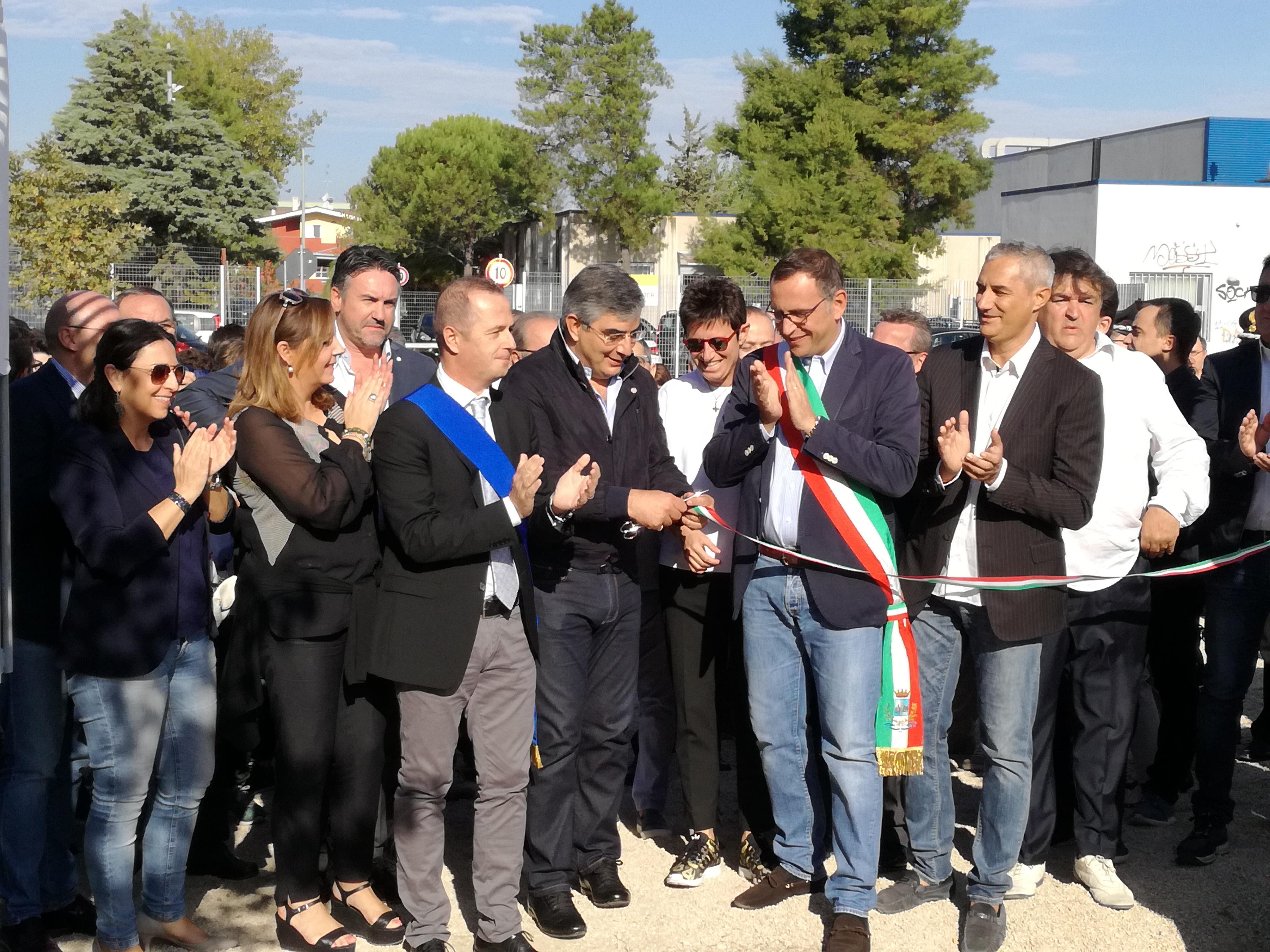 Pescara, inaugurata la piscina provinciale