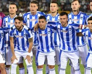 Pescara calcio, differenziato per 11 giocatori