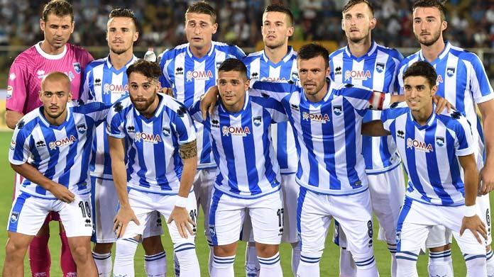 Pescara calcio,Vitturini al debutto