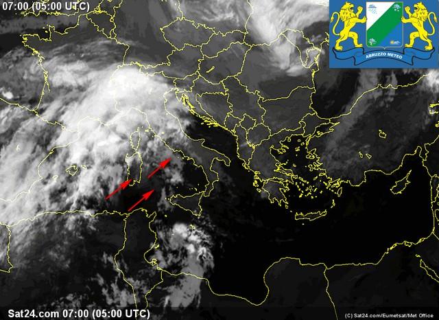 Previsioni meteo Abruzzo giovedì 13 ottobre