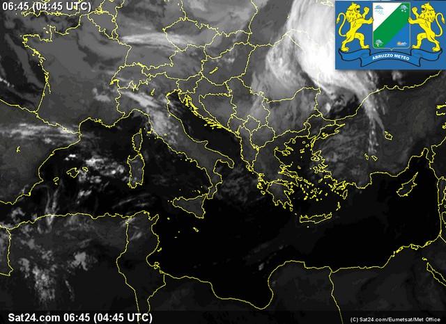 Meteo Abruzzo sabato 8 ottobre e domenica 9 ottobre