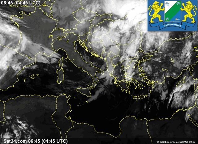 Previsioni meteo Abruzzo mercoledì 12 ottobre