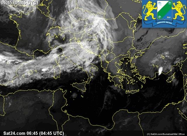 Previsioni meteo Abruzzo martedì 18 ottobre