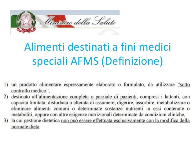 Una legge per detrarre Alimenti a Fini Medici Speciali