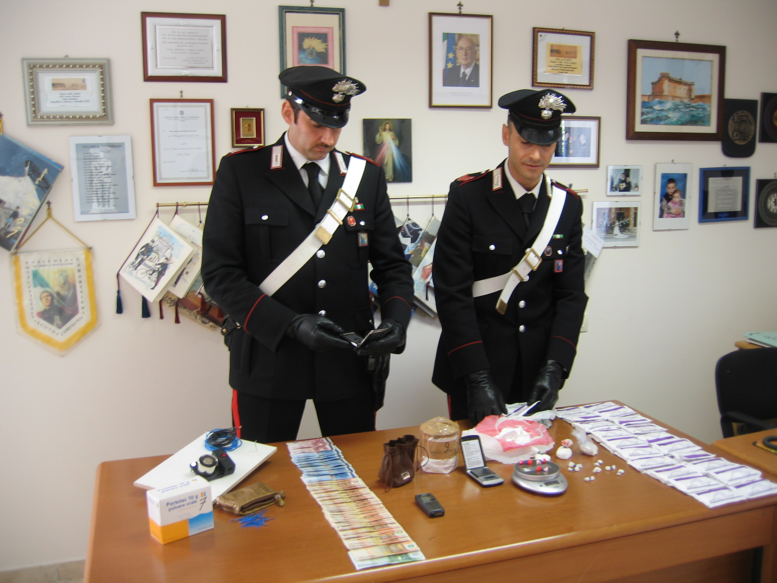 Lanciano, arrestati coniugi campani per droga