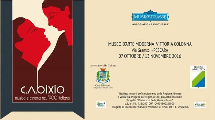 Pescara: al Colonna mostra su Andrea Bixio